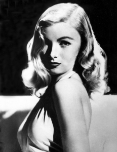 Veronica Lake and her iconic hairstyle